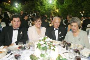 German Madero, Ana Paula Allegre de Madero, Alberto Allegre Familiar y Guadalupe del Cueto