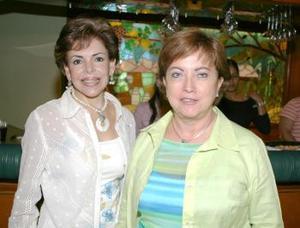 <u><i> 13 de Agosto </u></i><p>  Teresa Quintero de Cantú y Susana de González.
