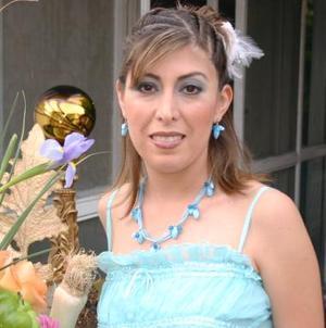 <u><i> 14 de Agosto </u></i><p>  Liliana Rodríguez Cananles, captada en la despedida de soltera que le ofrecieron hace unos días.