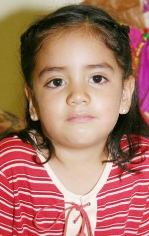 Sarahí Núñez Soto fue festejada por su cuarto cumpleaños con un divertido convivio.