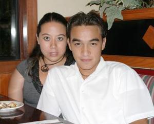 Cinthia Ávila y Jorge Cavazón Estrada.