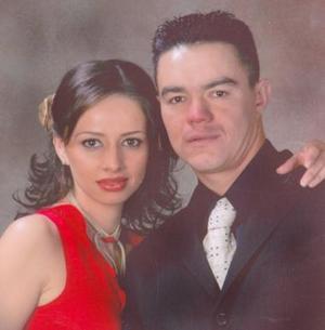 Gloria González y Vicente Saracho.