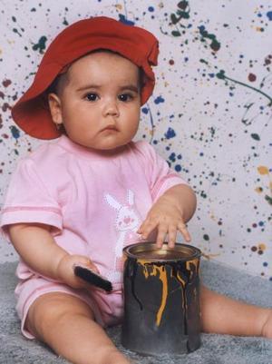 La pequeña Gabriela Venegas Chávez, es hijita de Víctor M. Venegas Treviño y Gabriela Chávez de Venegas.