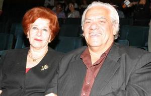 Victoria y Augusto Peña.