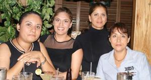 Evis Soto, Brenda Escandón, Betty Saad y Socorro de la Cruz.