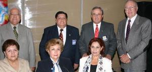 Pedro e Irma Rivas, Ignacio y María Ángeles Balcázar, Manuel y Laura Luévanos y Franz von Bertrab.