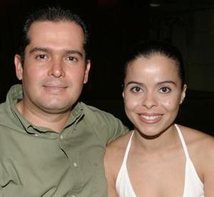 Sonia García y Ricardo Fiscal.