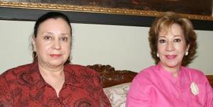 María Guadalupe del Río e Irma de Froto.