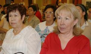 Cristina H. Barrón y Nancy Gudiño.