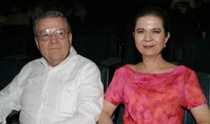 Luis Carlos y Lucero Reyes.