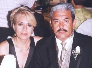 María Guadalupe Guzmán de Ceballos y Javier Ceballos Juárez.