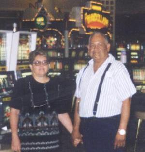 José Luis Rivera Cháirez y Graciela Lara de Rivera disfrutaron unas agradables vacaciones en Las Vegas, Nevada.