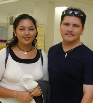 Mariana Carrillo y José de la Torre.