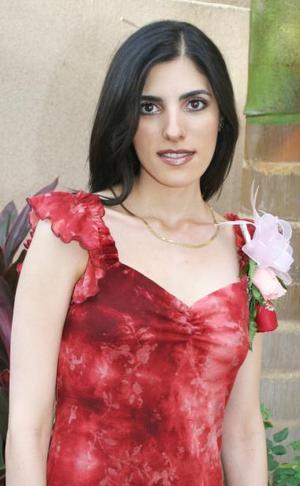 <u><i> 18 de Agosto </u></i><p>  Por su próxima boda con Baltazar Villarrea, le ofrecieron una despedida a Cecilia Salmón Abraham.