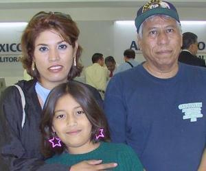 <u><i> 19 de Agosto </u></i><p>   Magda Soto viajó a Mérida, fue despedida por Miguel Sandoval y Abril Castañeda