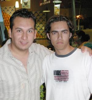 Juan Ángel Sierra y Fernando Rosales