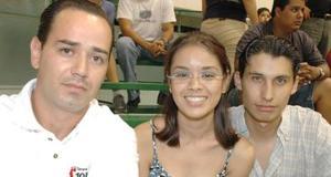 Miguel Sánchez, Mirey Elizalde y Ángel Iván de la Cueva