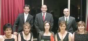 Elisa Huerta, Gaby González, Susana Mendiola, Ángeles Garza, Lucía Ramos, Juan Carlos Campuzano, Javier García y Sirahuen Sada.