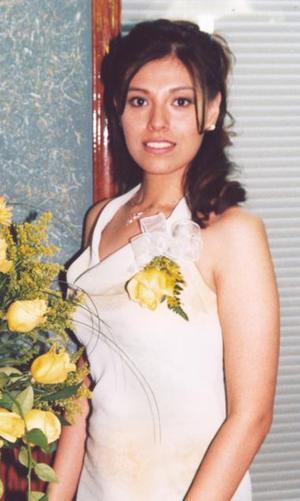 Lizeth Armendáriz Tostado contraerá matrimonio con David Guerrero González, el próximo nueve de octubre.