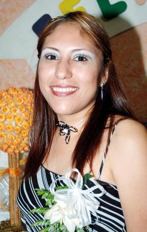 <u><i> 20 de Agosto </u></i><p>  Sandra Rocío Martínez Pérez fue despedida de su soltería en días pasados.