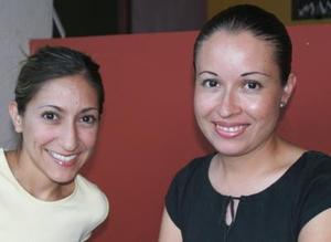Mayela Castellanos y Ana Cecilia Quintero.
