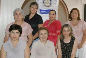 Comité de Damas del Club Rotario Torreón Oriente.