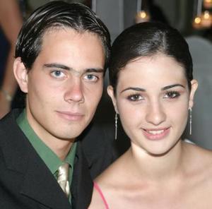 David Abusaid y Mayela de la Garza