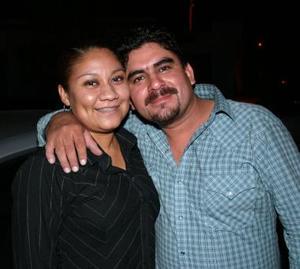 Reyna Duarte y Braulio Pereyra