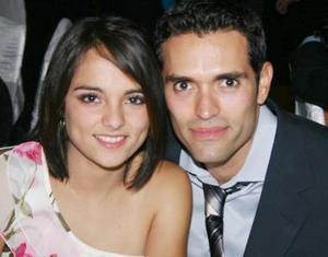 Bárbara Gurza y Gustavo Martínez.