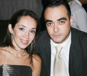 Liliana Carrillo y Rodolfo Haces Gil Mijares.
