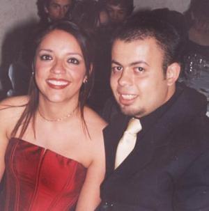Marcela Ibáñez y Antonio Soto.