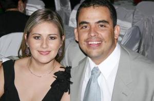 Sara de Anaya y Roberto Anaya.