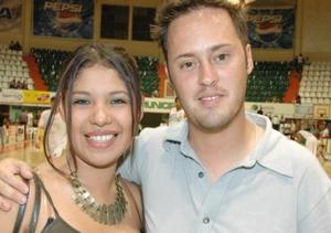 Oleyda Montañez y alberto Ruiz.