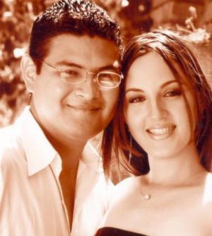 José Barajas González y Alicia Rodríguez.