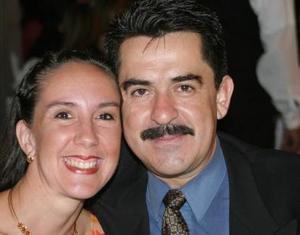 Mauricio del Hoyo y Christa de Del Hoyo.