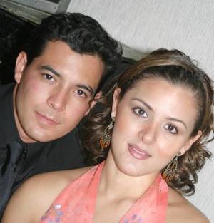 Nando Garrido y Ginela Ortiz.