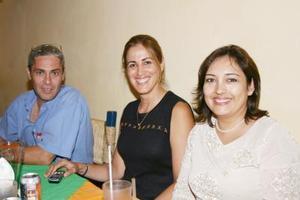Fernanado Velázquez, Mayoya Marcado y Zaide Seáñez.