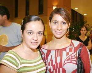 Heidi Ruiz y Yolanda Alonso.