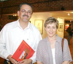 Juan José Esquivias y María  Luisa Madero.