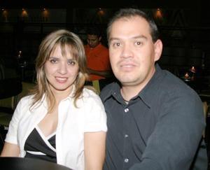 Rocío Bruno y Carlos Emery.