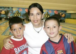 Fernanado Rebollo, Claudia de Rebollo y Diego Izaguirre.