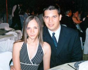 Bárbara García y Ricardo Serrano.