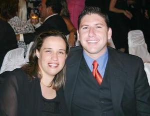 Luis Carlos y Érika Gilio.