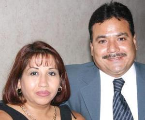 María del Rosario Jáuregui Ramírez y Alejandro Castillo Ibarra.