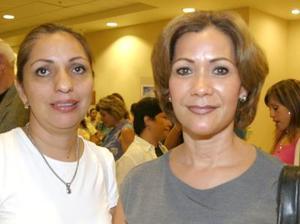 Gaby de López y Belinda de Nahle.