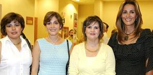 <u><i> 23 de Agosto </u></i><p>   Titis Borrego, Sory de Garza, Anabel Garza y Nora González.