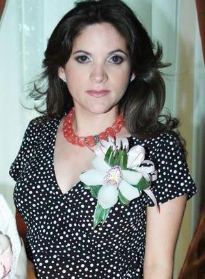 <u><i> 24 de Agosto </i></u><p>   María Elena García de Ramos, en una fiesta de canastilla que le ofreció la señora María Elena de García.