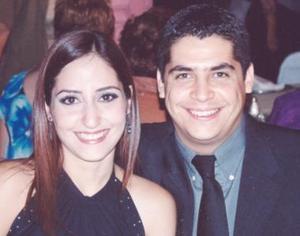 Lilia de Rangel y Alaín Rangel.