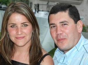 Alejandra y Carlos Rebollo.