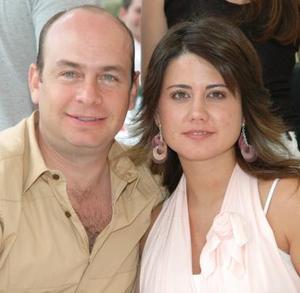 César y Ana Sofía de la Garza.
